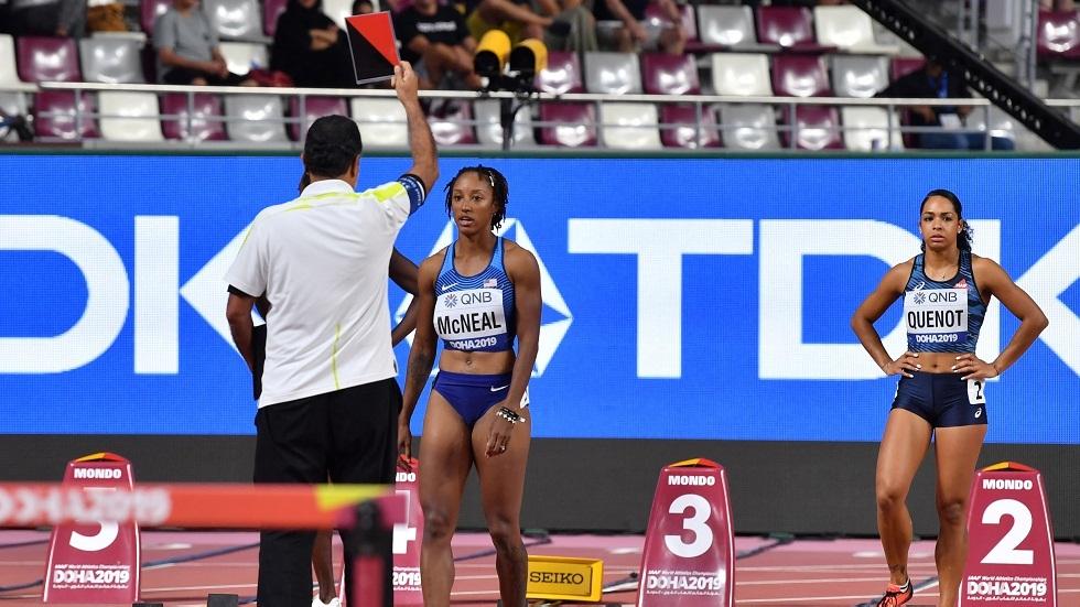 إيقاف البطلة الأولمبية الأمريكية مكنيل 5 سنوات لخرق قواعد المنشطات