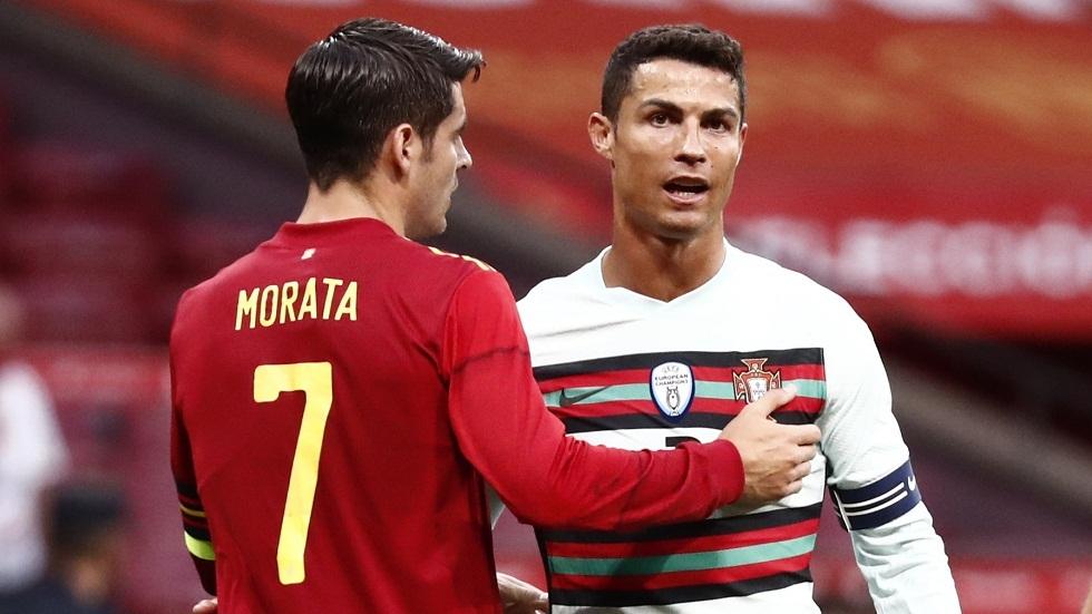 لا غالب ولا مغلوب في مباراة إسبانيا والبرتغال الاستعدادية لأمم أوروبا