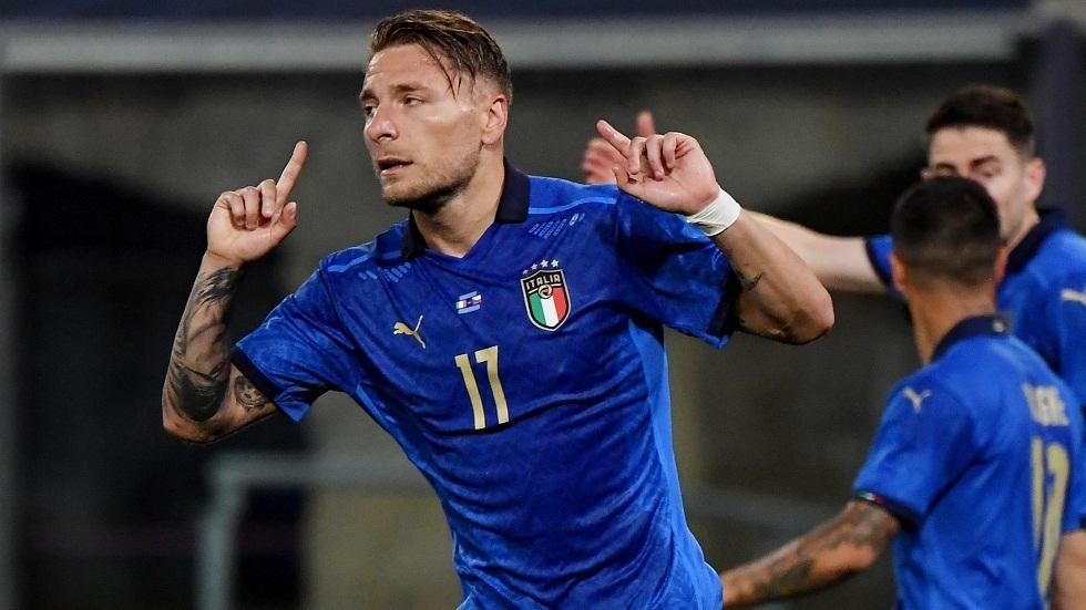 إيطاليا تختتم تحضيراتها لكأس أمم أوروبا برباعية في شباك التشيك (فيديو)
