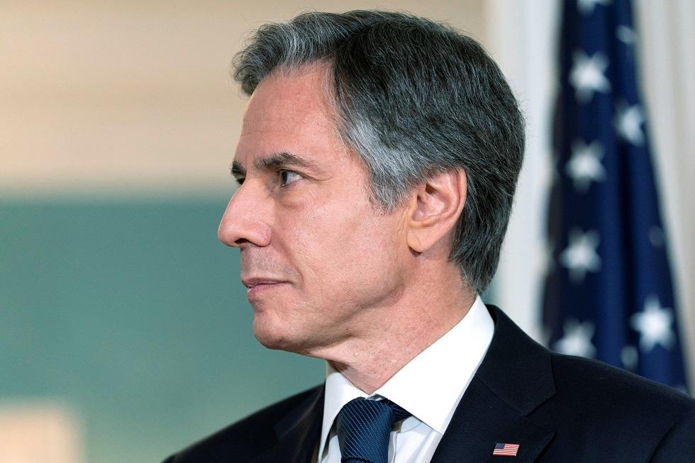 وزير الخارجية الأمريكي: ملتزمون بإعادة بناء علاقاتنا مع الشعب الفلسطيني
