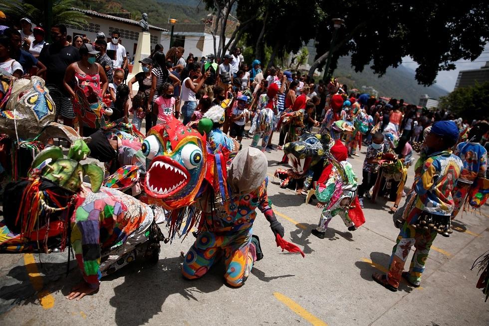 الشياطين الراقصة في فنزويلا