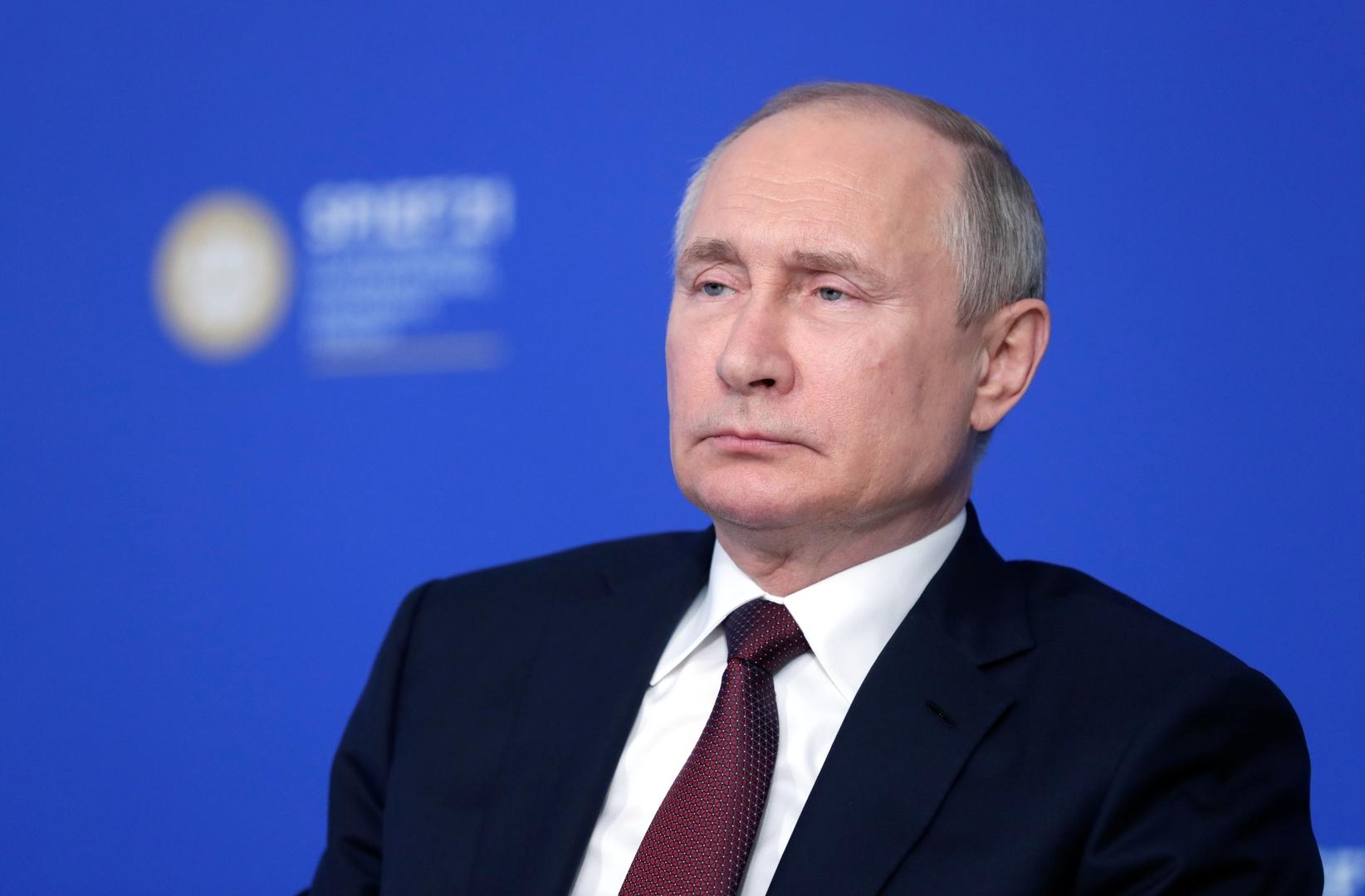 بوتين: روسيا مستعدة للإسهام في حل النزاع بالشرق الأوسط والمصالحة بين الفلسطينيين عامل مهم