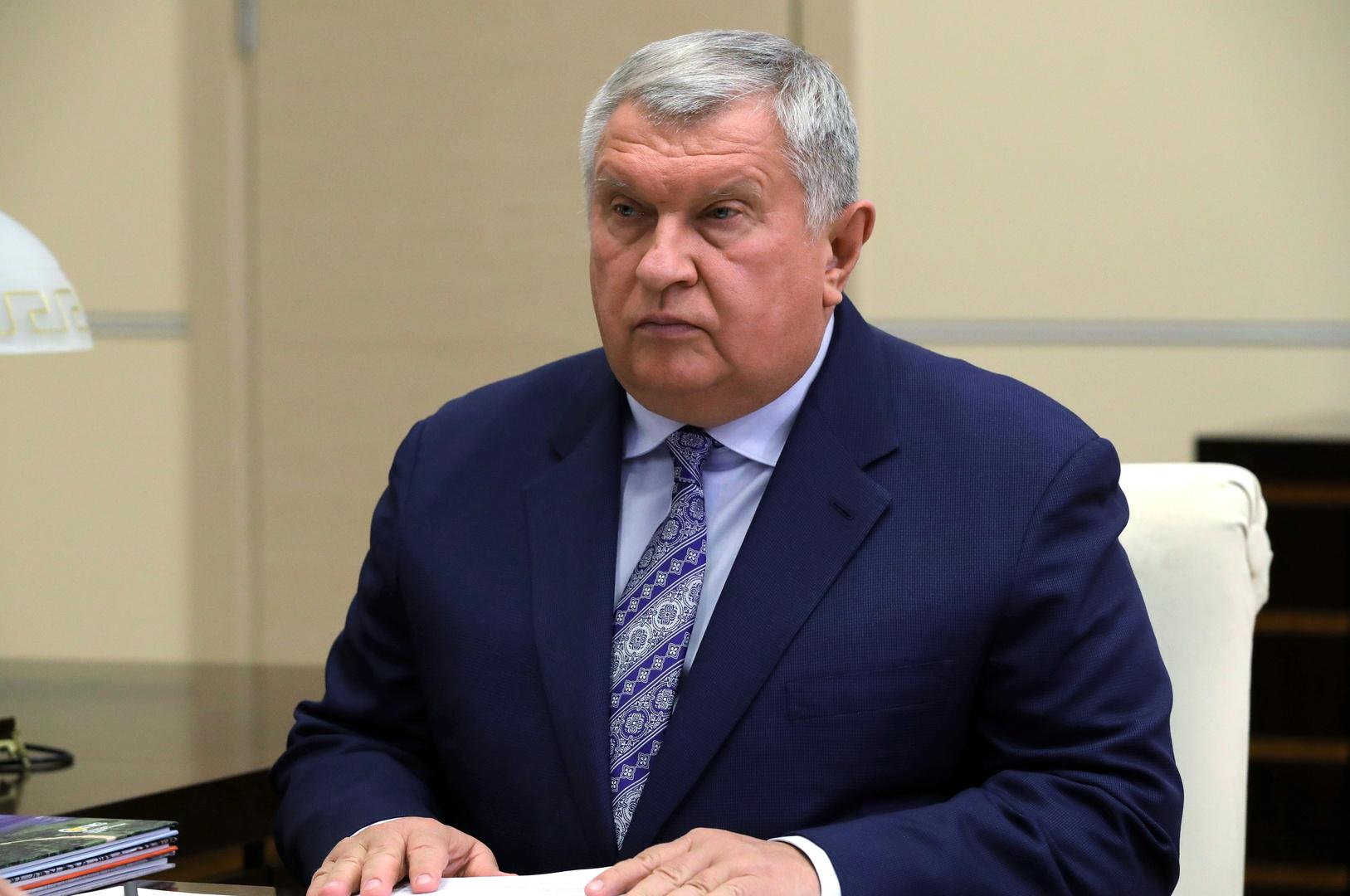 صورة من الأرشيف - رئيس الشركة الروسية