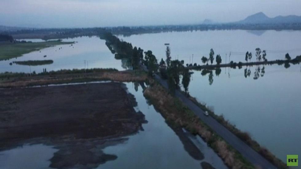 بحيرة سيكو التاريخية تواجه خطر الاختفاء
