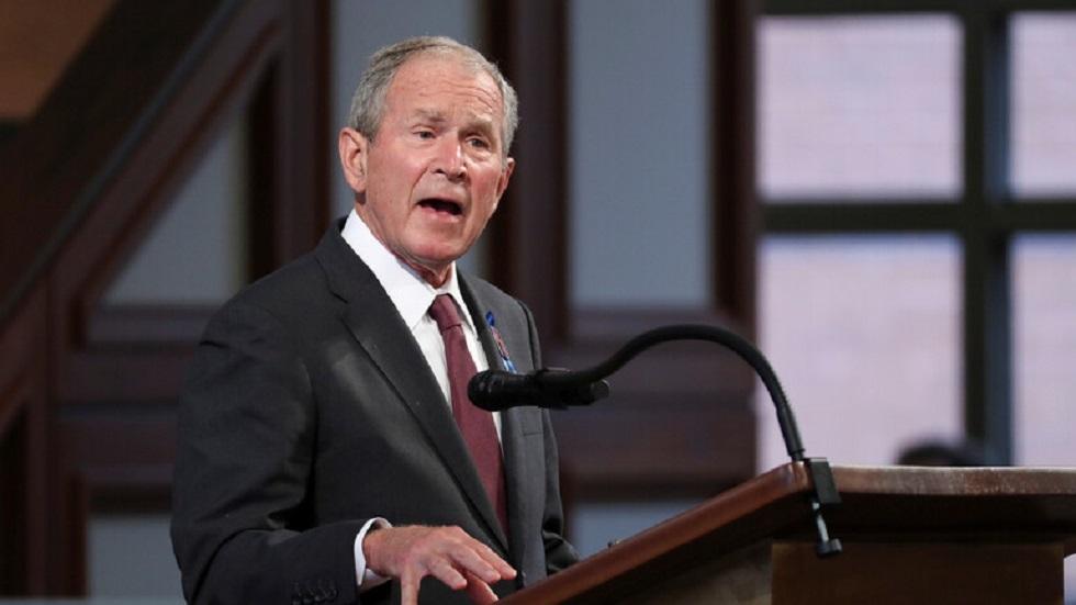 الرئيس الأمريكي الأسبق جورج دبليو بوش (الأبن) - أرشيف