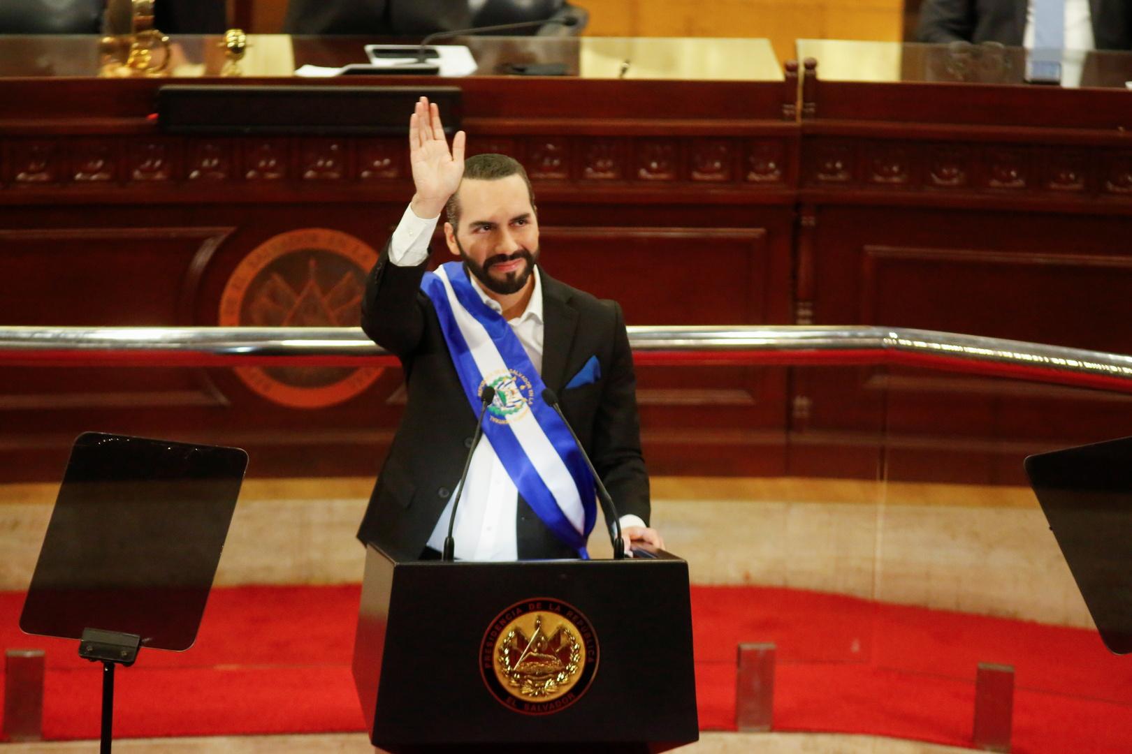 رئيس السلفادور نايب بوكيلي