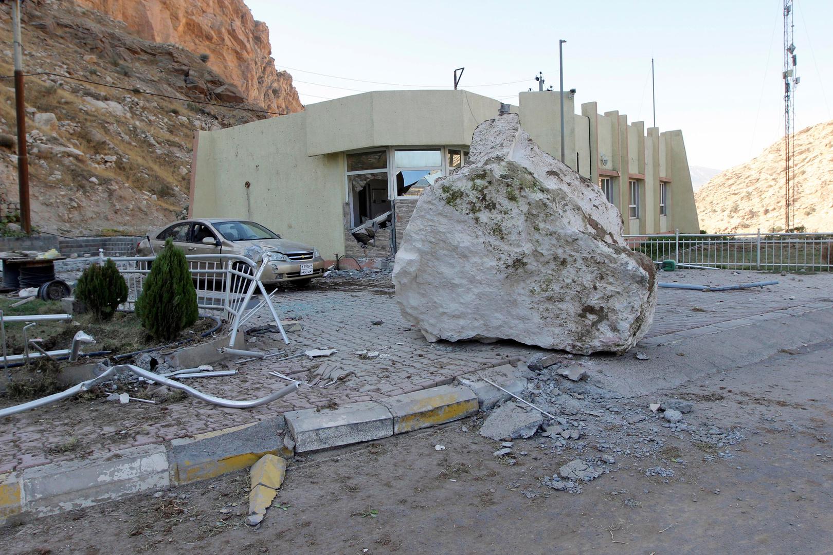 هزة أرضية بقوة 5.2 درجة على مقياس ريختر تضرب مدينة صالح آباد الإيرانية على حدود العراق