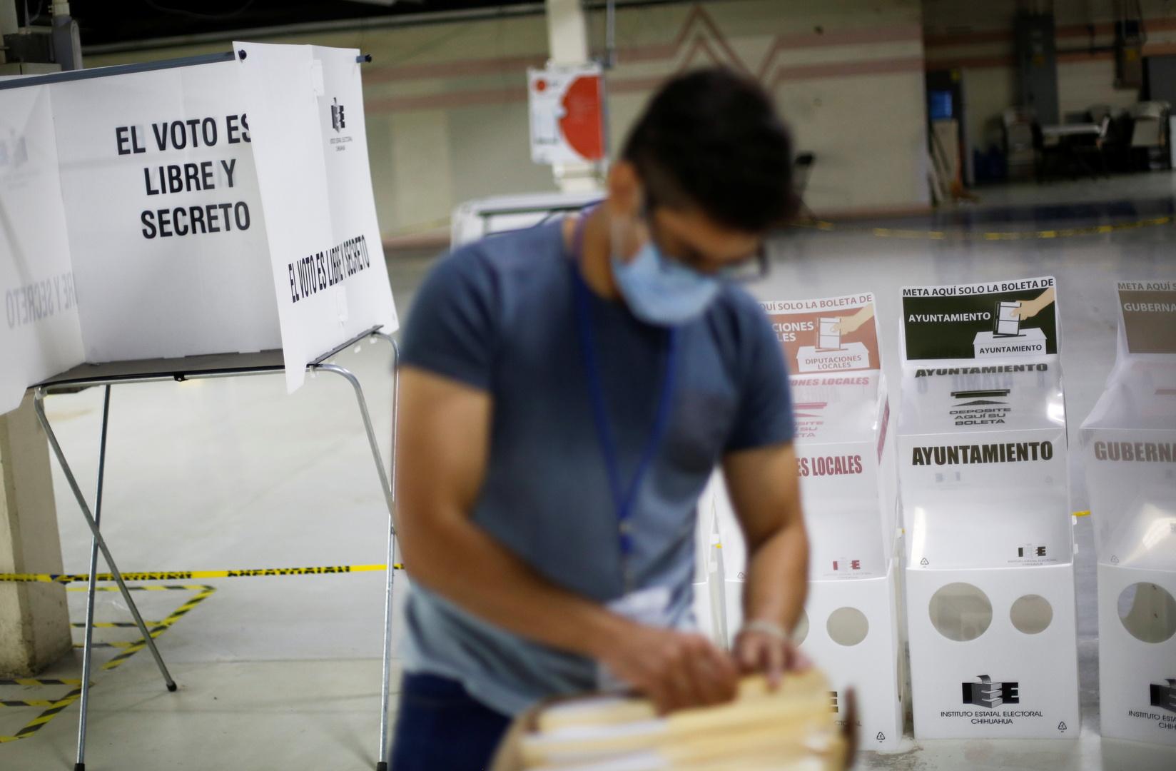 في واحدة من أكبر الانتخابات في البلاد.. المكسيكيون يصوتون بانتخابات التجديد النصفي