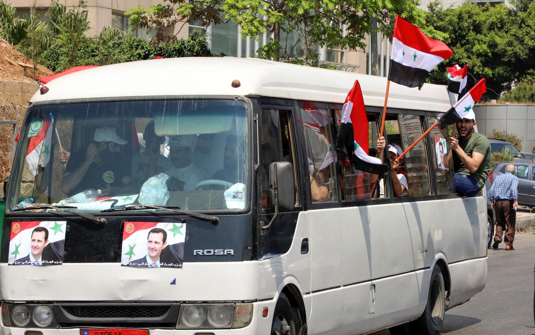 السفارة السورية ببيروت تدفع تعويضات لمتضرري اعتداءات الانتخابات الرئاسية