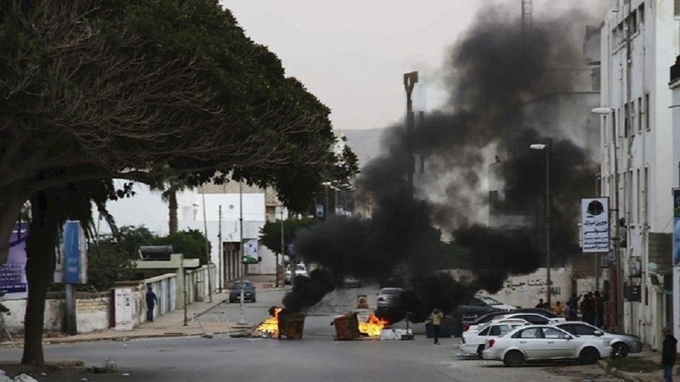 تفجيرات في ليبيا - أرشيف