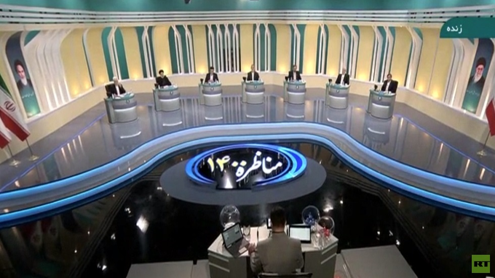 المناظرة الأولى بين مرشحي الرئاسة في إيران