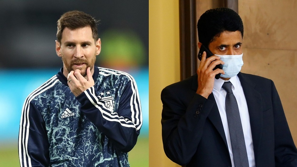 الخليفي يبخر أحلام ريال مدريد ويتحدث عن إمكانية التعاقد مع ميسي