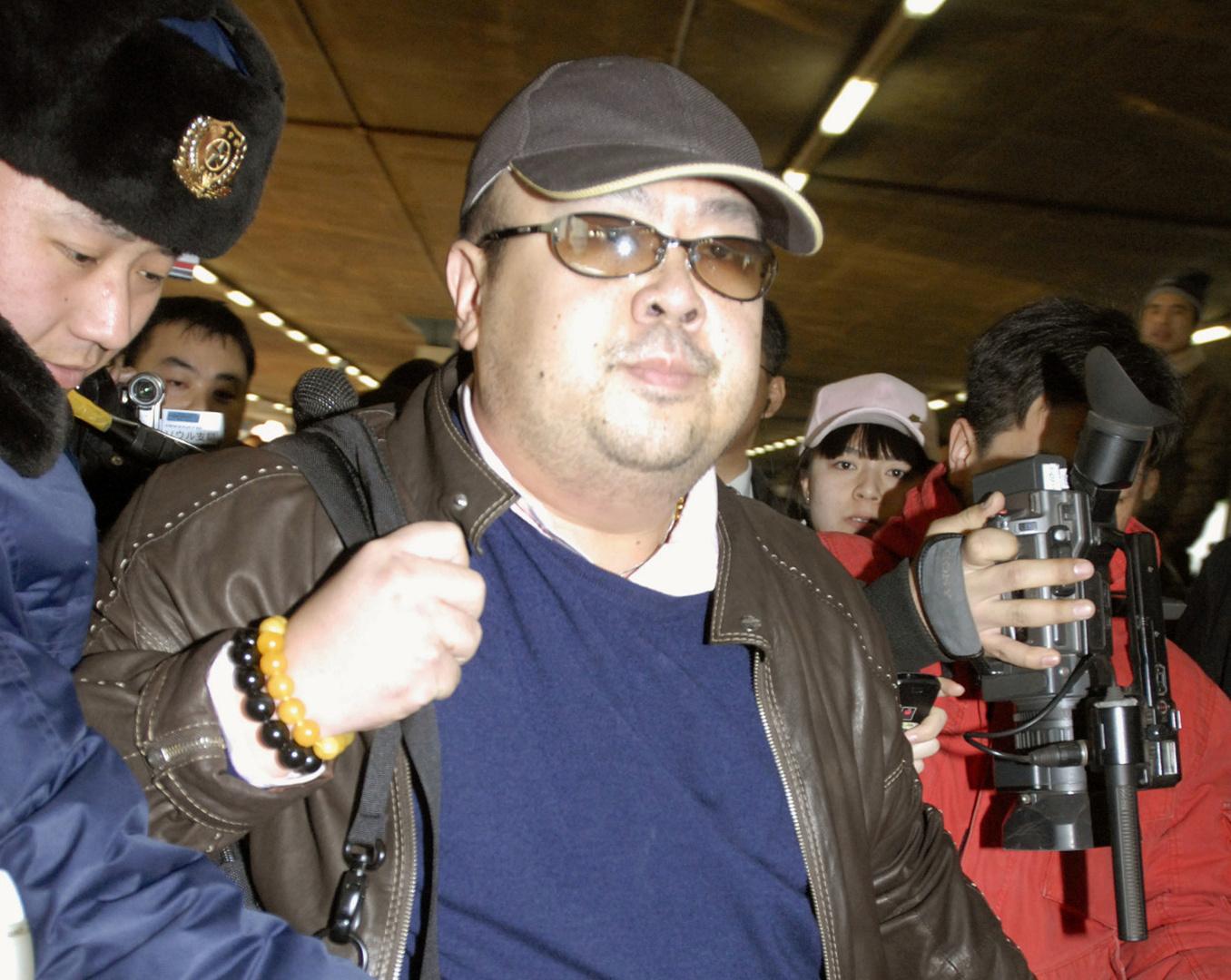 كيم جونغ نام، الأخ الأكبر للزعيم الكوري الشمالي كيم جونغ أون، أرشيف