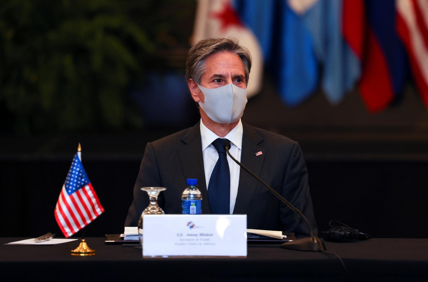 بلينكن: من غير الواضح ما إذا كانت إيران راغبة بفعل ما يلزم للعودة للاتفاق النووي