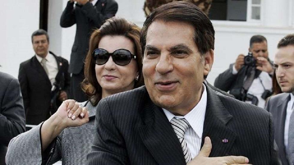 ليلى بن علي أرملة الرئيس التونسي الأسبق زين العابدين بن علي