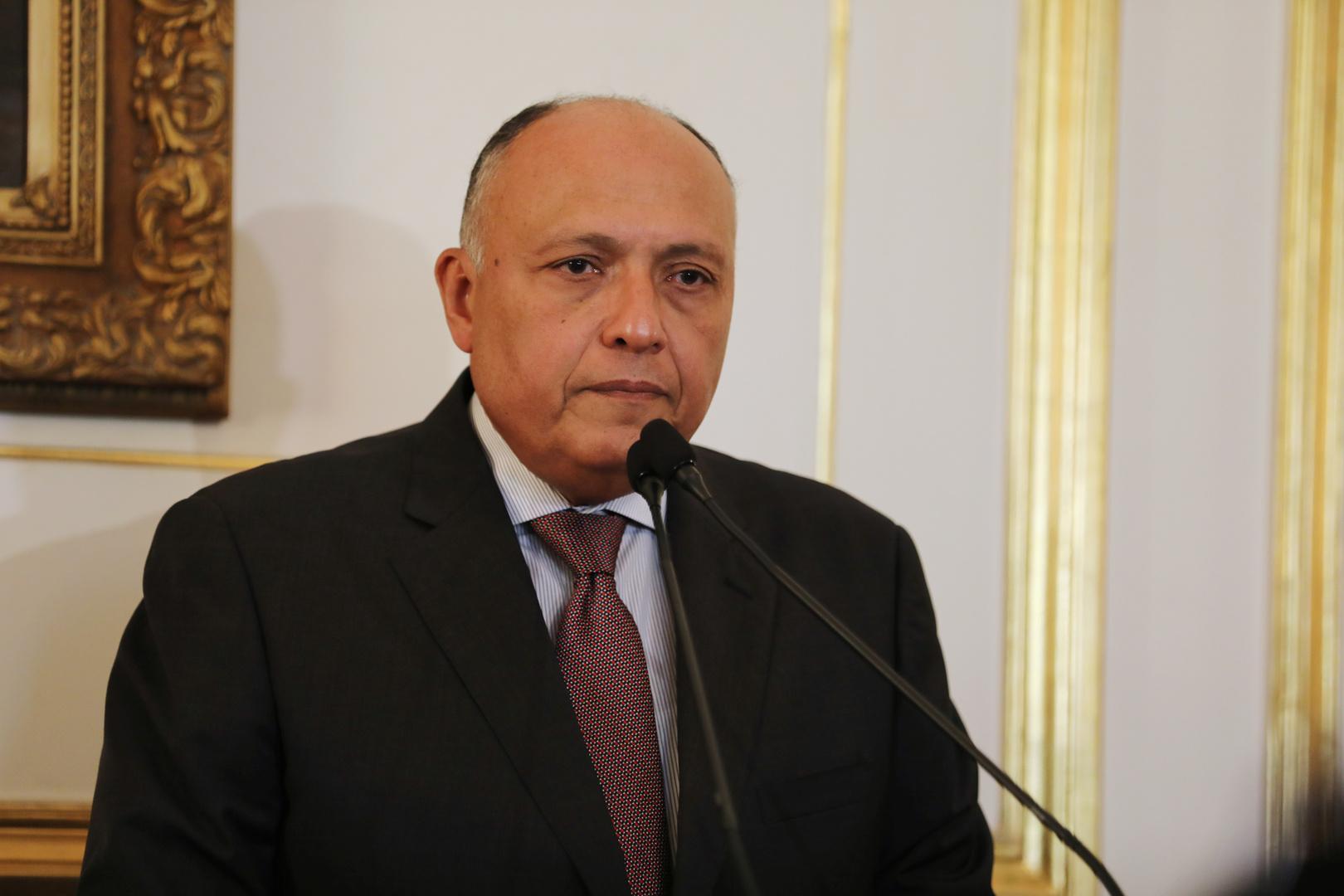 مصر تدعو لإطلاق مفاوضات جادة بين الفلسطينيين وإسرائيل
