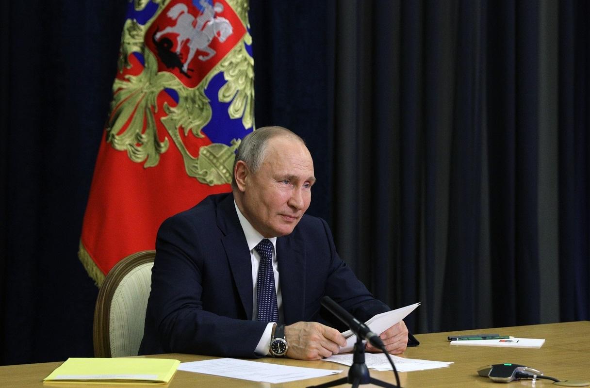 الرئيس ااروسي فلاديمير بوتين