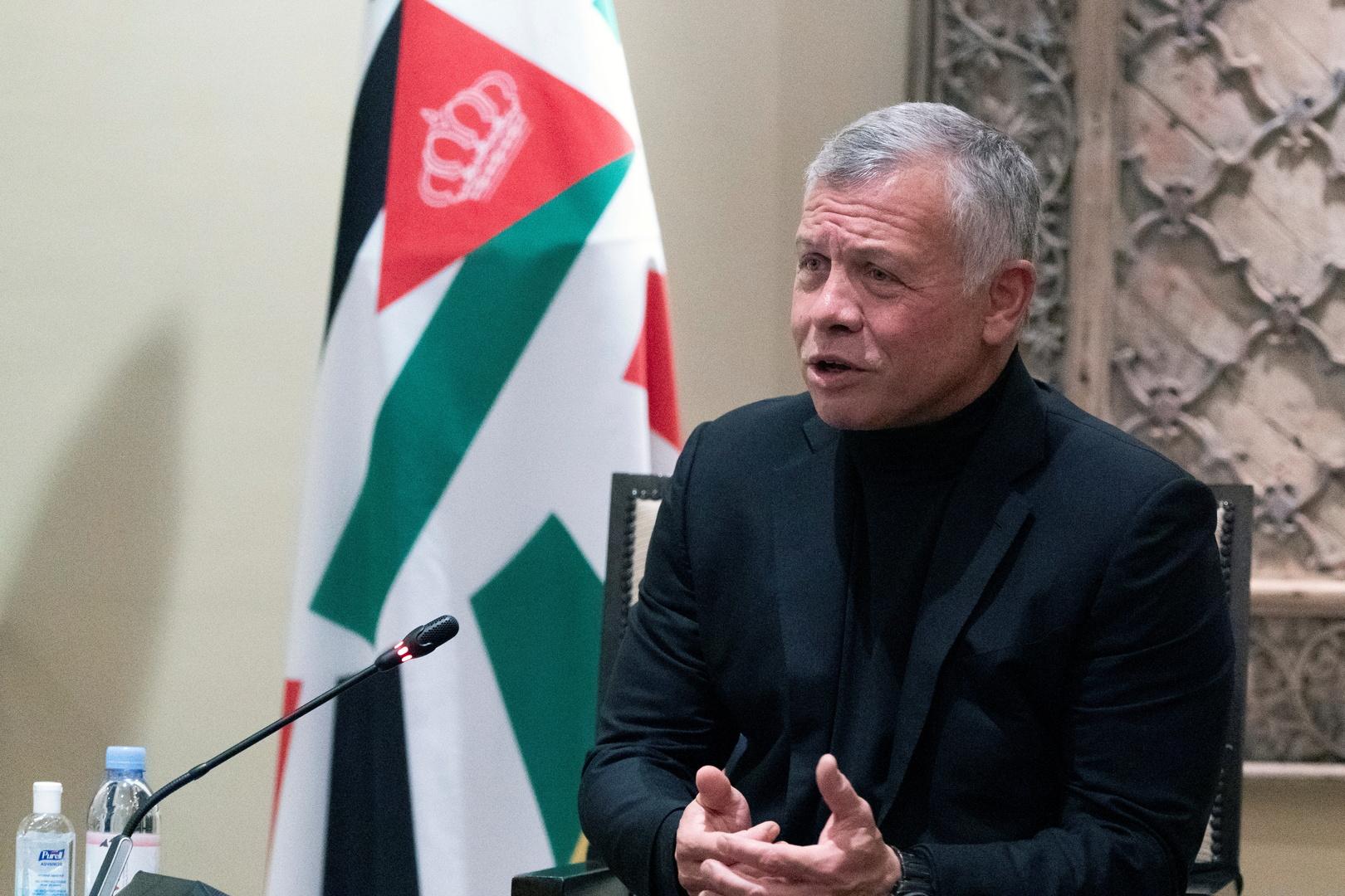 العاهل الأردني يكشف عن