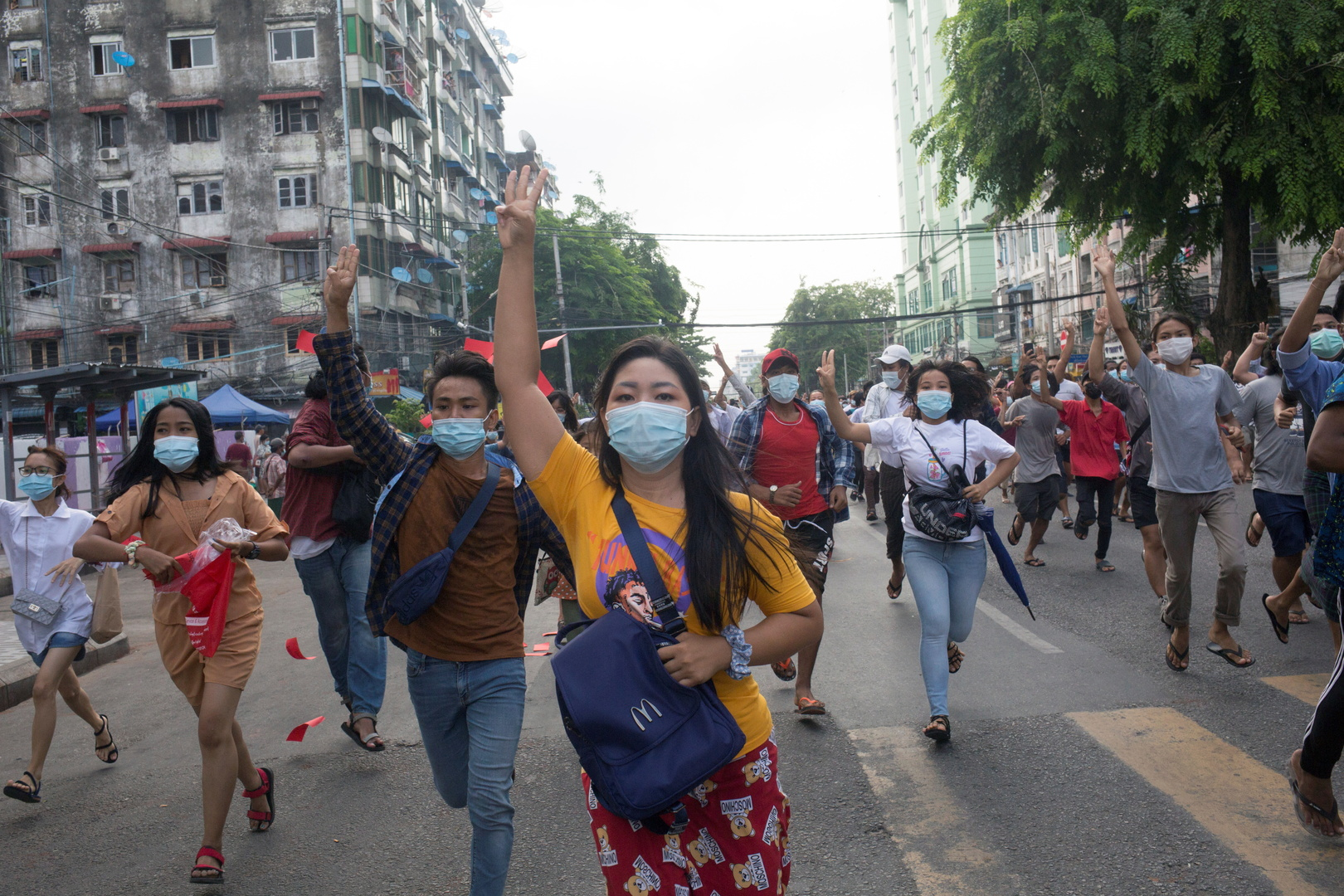 واشنطن تشير إلى تصاعد العنف في ميانمار