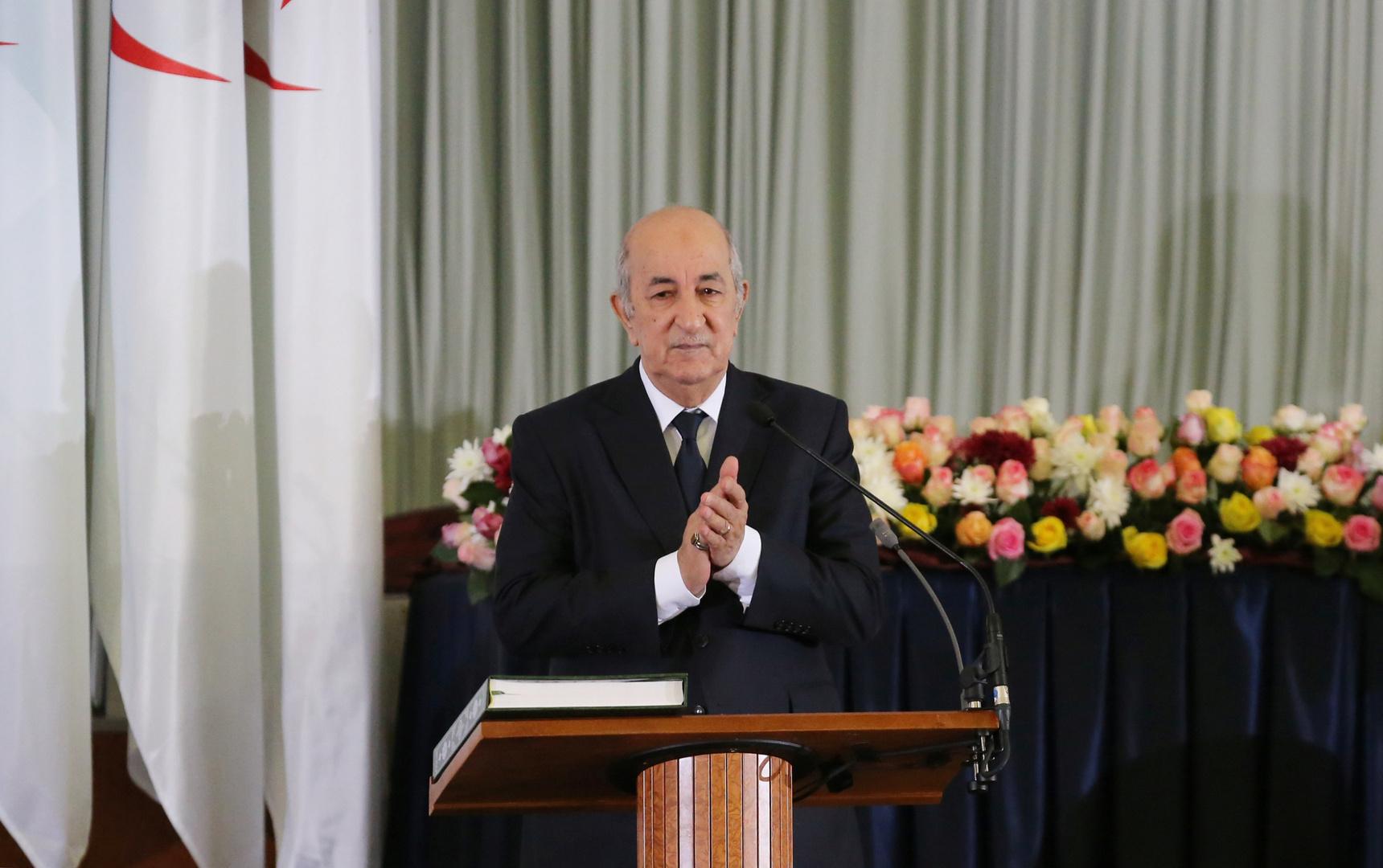 الرئيس الجزائري مخاطبا من أراد استهداف بلاده بعد سوريا: