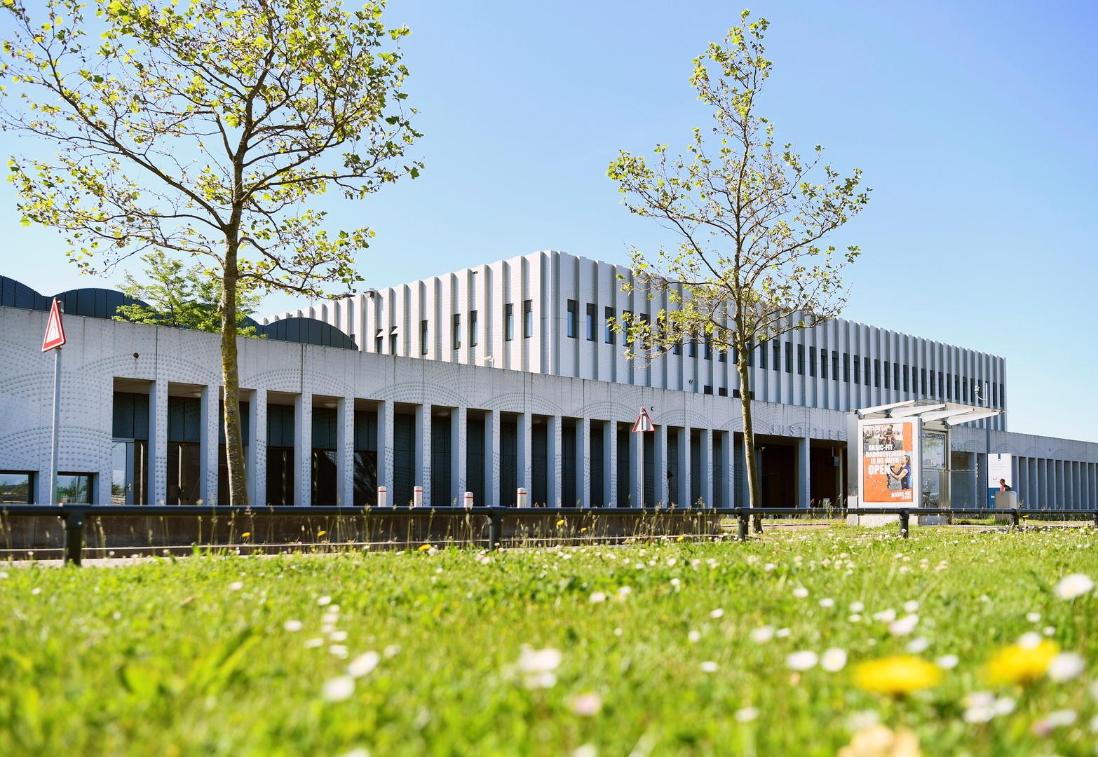 مبنى المحكمة التي تجري فيها المحاكمة في قضية كارثة رحلة MH17، هولندا