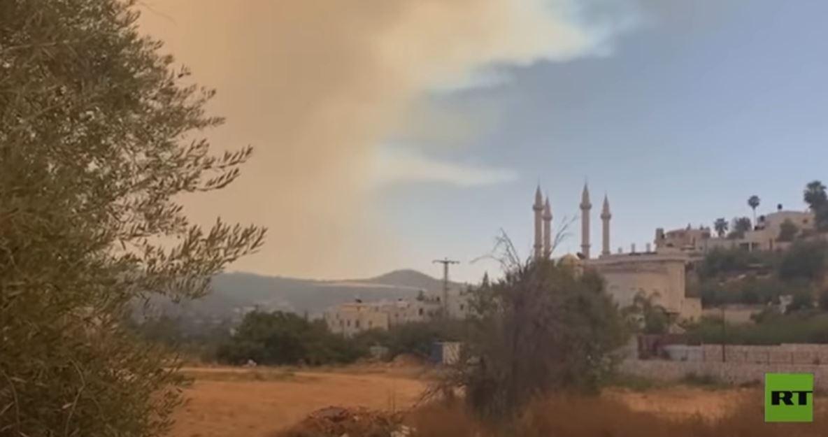 اندلاع حرائق غابات قرب القدس