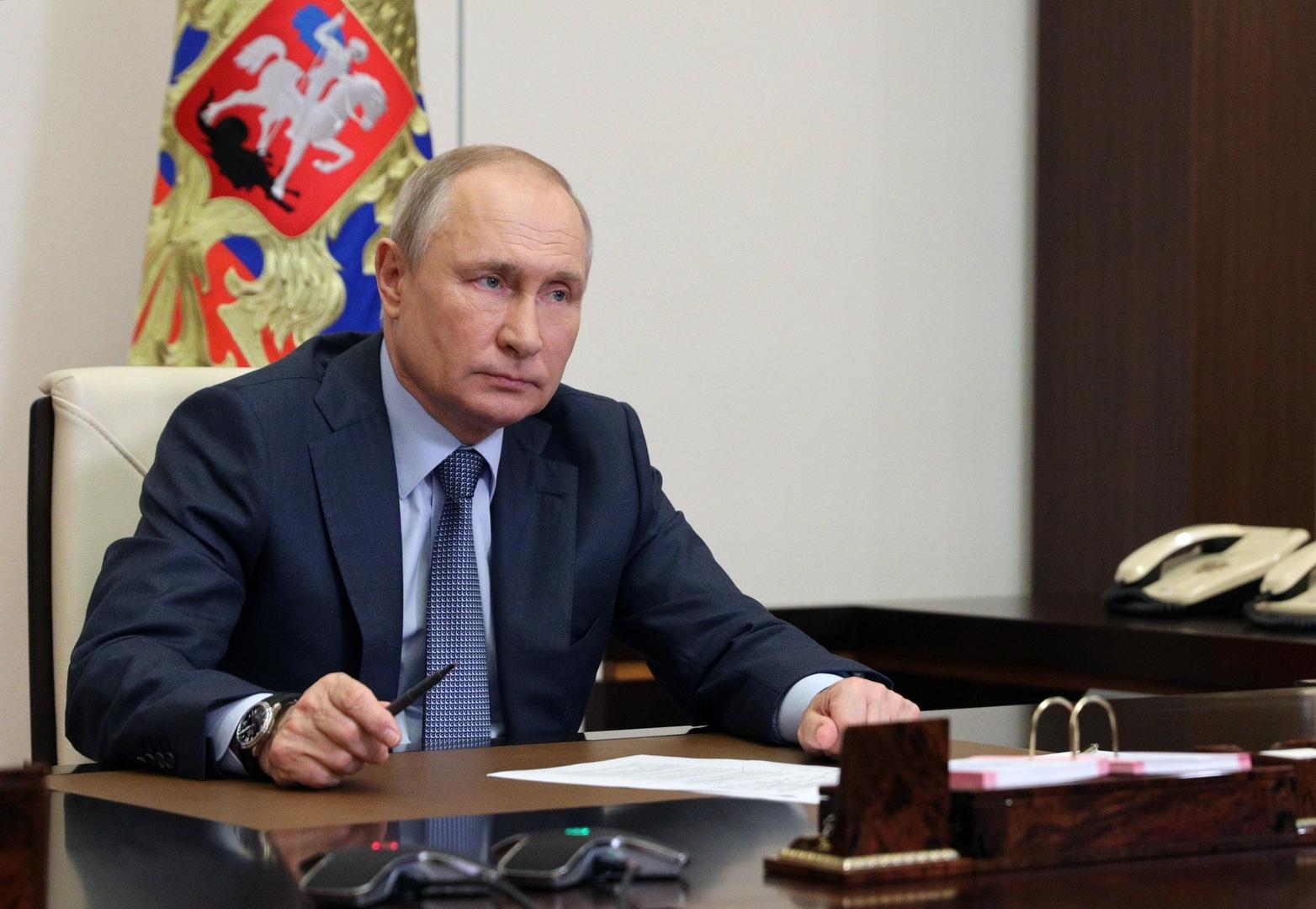بوتين: نأخذ الحديث عن انضمام أوكرانيا للناتو على محمل الجد.. ونصف سكان أوكرانيا يعارضون ذلك