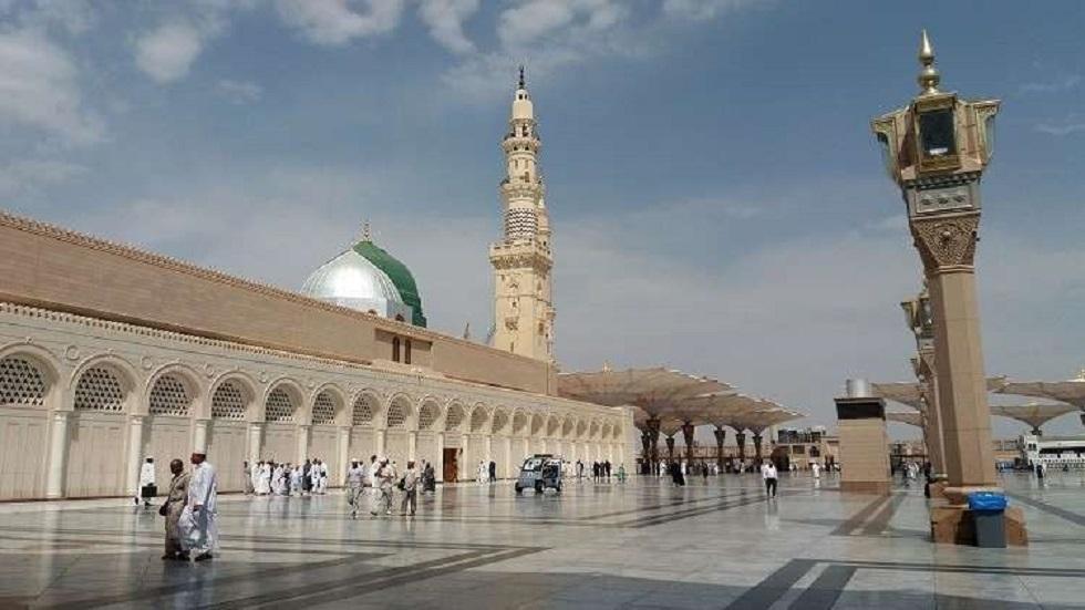 المسجد النبوي في المدينة المنورة بالسعودية - أرشيف