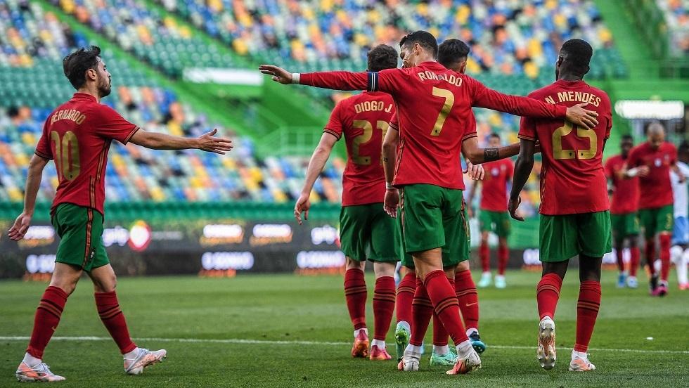 البرتغال تكتسح إسرائيل (فيديو)