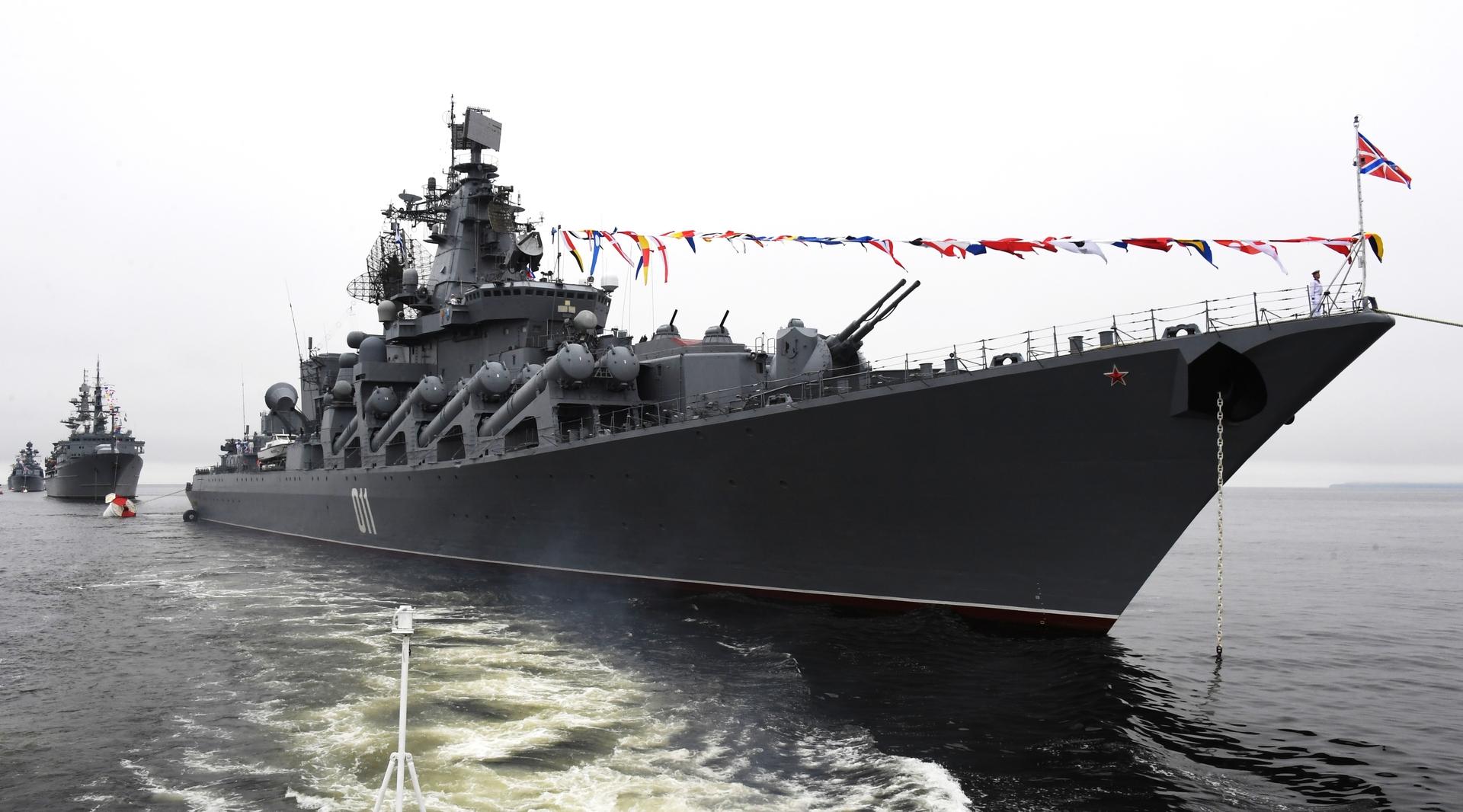 مناورات روسية بحرية كبرى وسط الهادئ (فيديو)