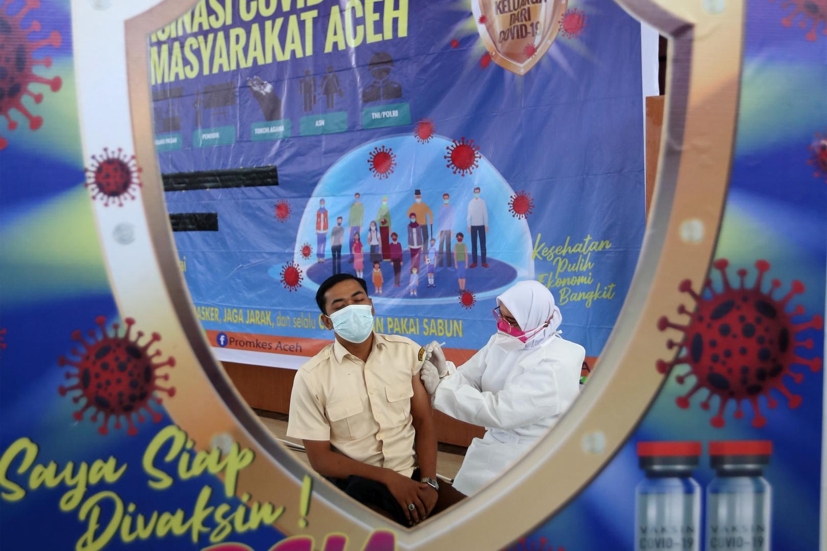 إندونيسيا تسجل أعلى حصيلة إصابات يومية بكورونا منذ فبراير