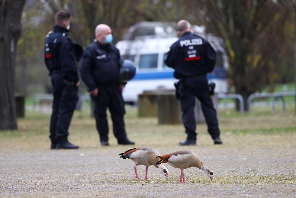 شرطة مدينة فرانكفورت الألمانية