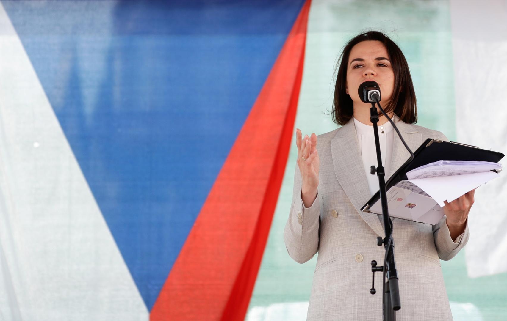رئيس التشيك يقترح فتح ممثلية للمعارضة البيلاروسية في براغ