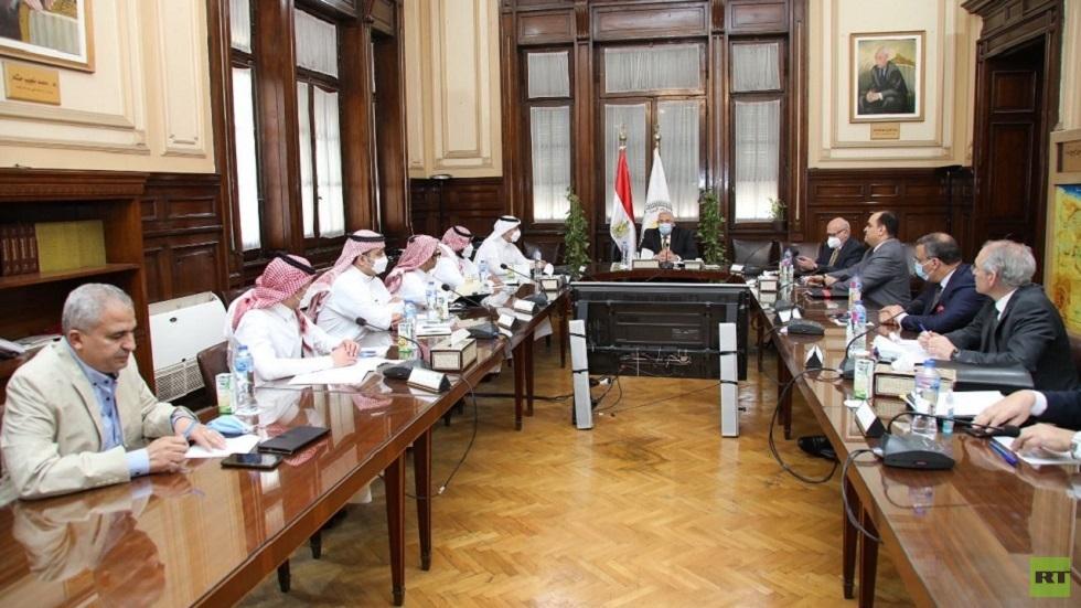 وزير الزراعة المصري يستقبل وفدا سعوديا رفيع المستوى