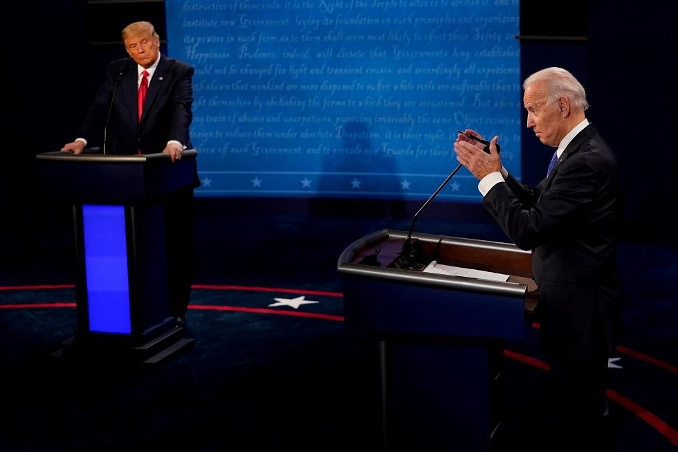 ترامب لبايدن: لا تغف خلال اجتماعك مع بوتين وانقل له تحياتي الحارة