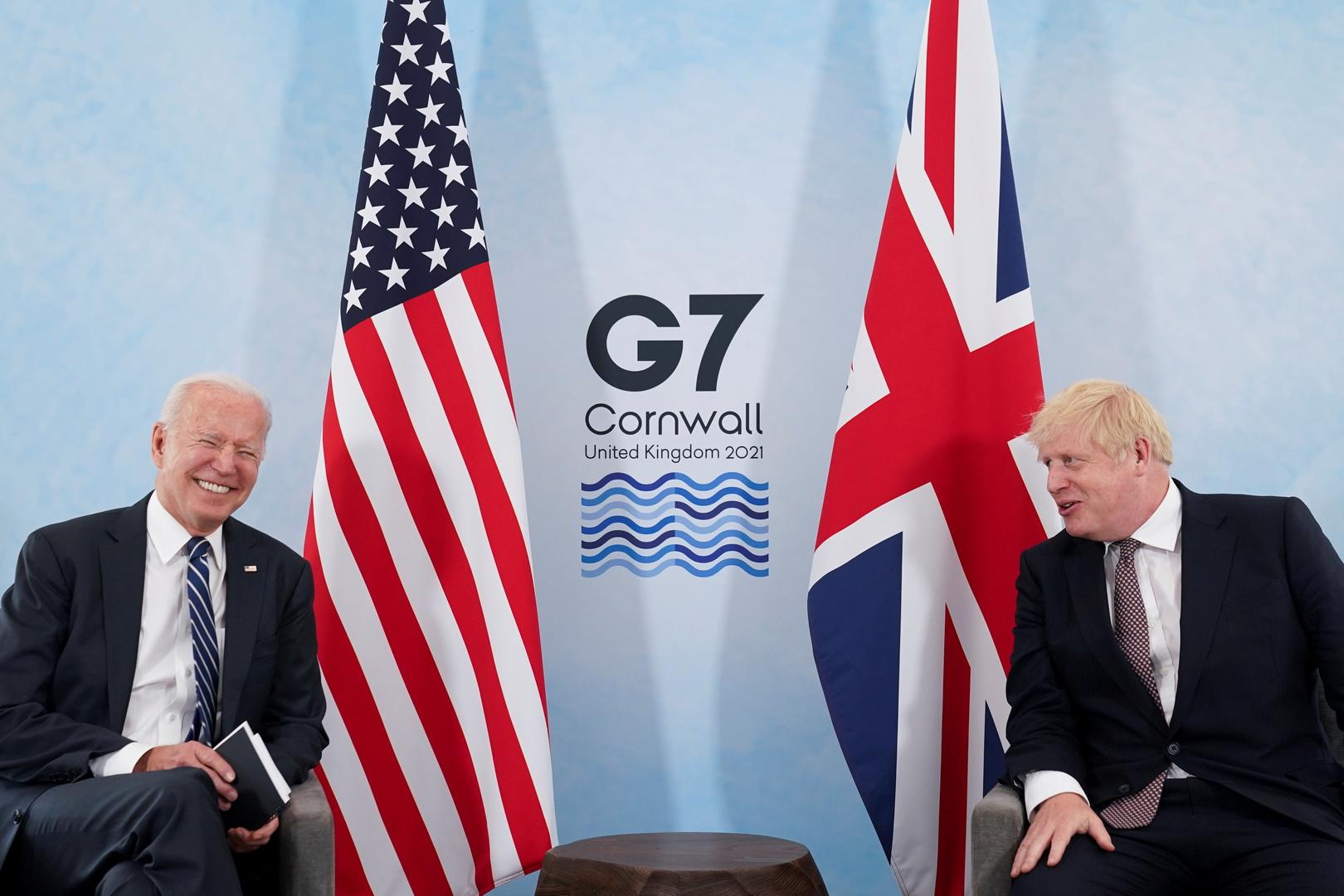 جونسون: العلاقة مع الولايات المتحدة