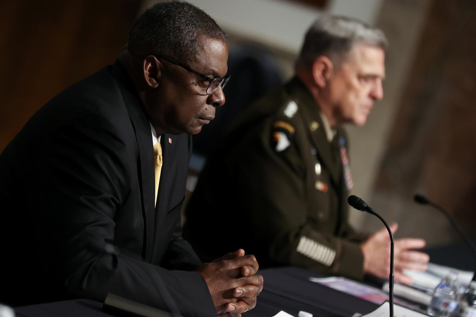 وزير الدفاع الأمريكي لويد أوستن