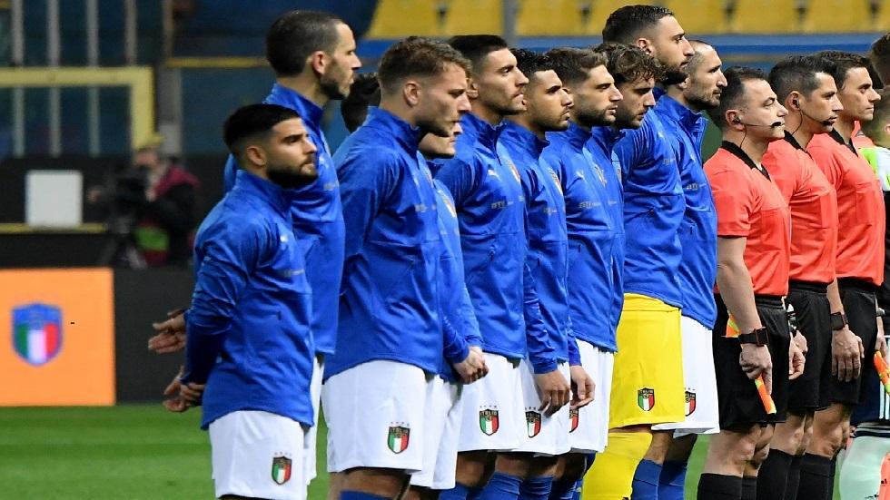 التشكيلة المتوقعة لإيطاليا أمام تركيا في افتتاح