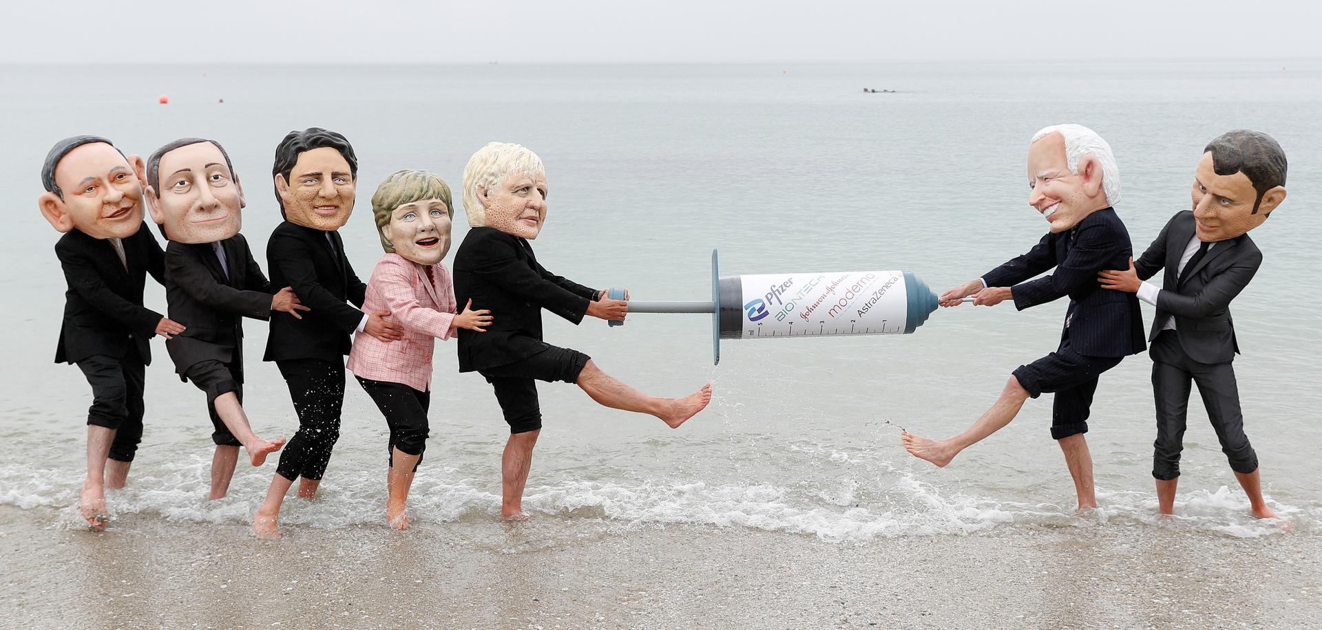 انطلاق أول قمة حضورية لـG7 منذ بداية الجائحة في بريطانيا