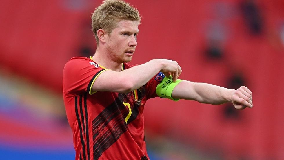 كأس أوروبا.. دي بروين يغيب عن مباراة بلجيكا أمام روسيا