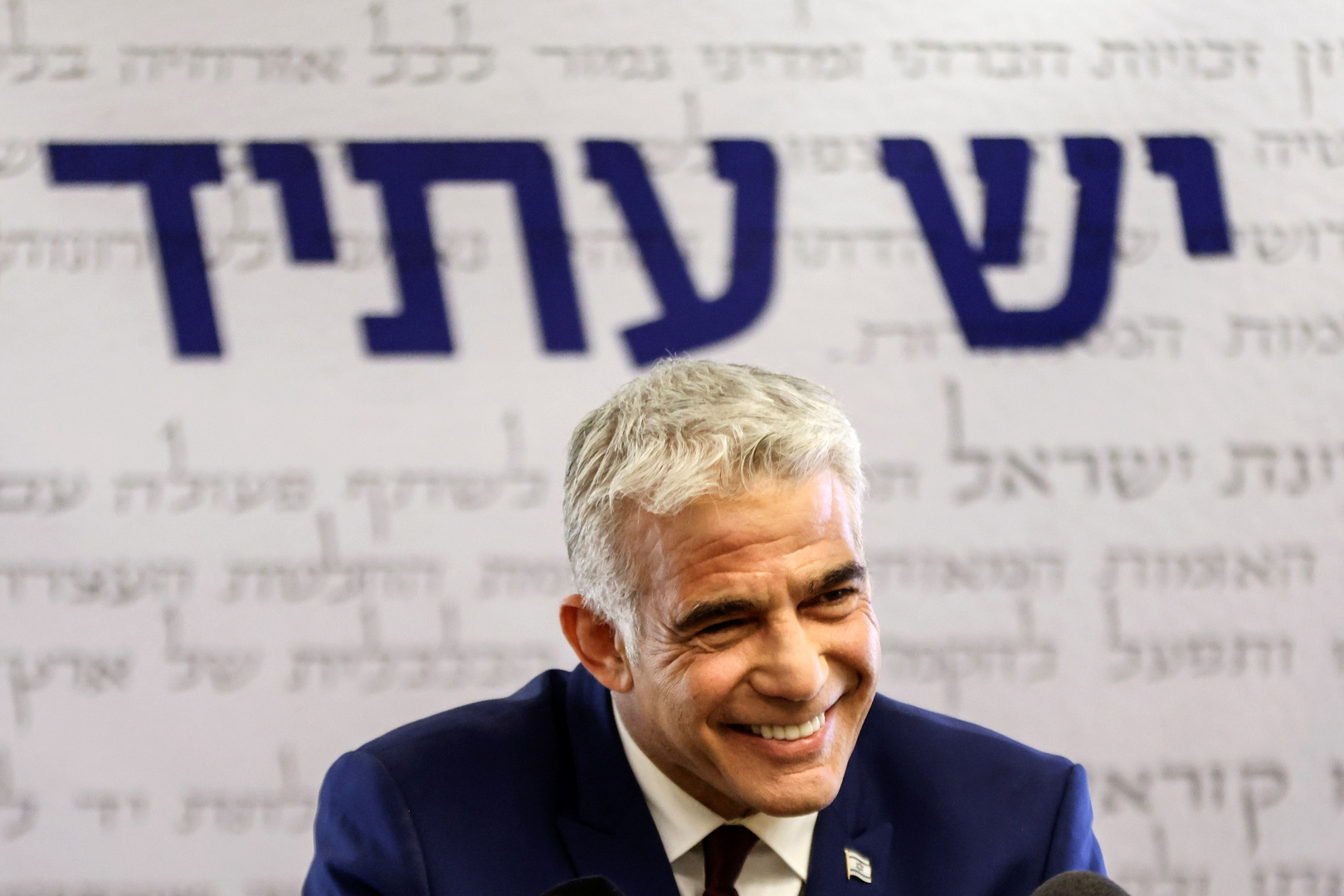إسرائيل.. لابيد يتم توقيع الاتفاقات الائتلافية مع أحزاب