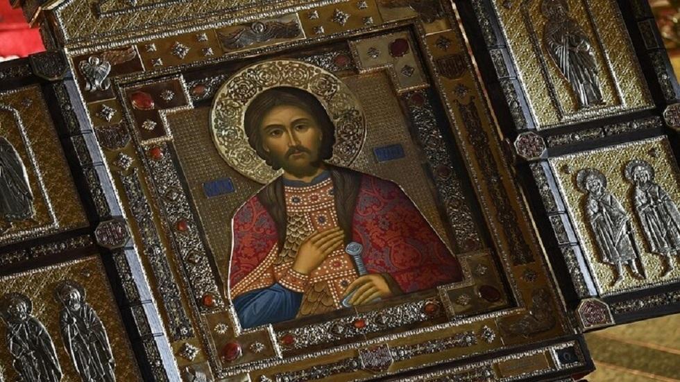 أيقونة القديس ألكسندر نيفسكي