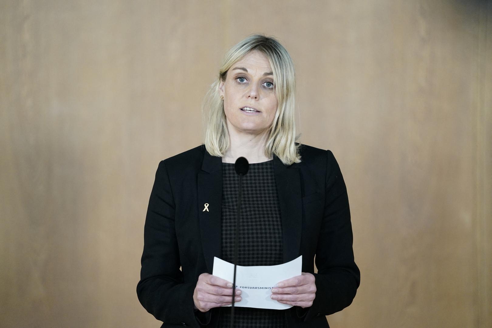 وزيرة الدفاع الدنماركية ترينيه برامسن