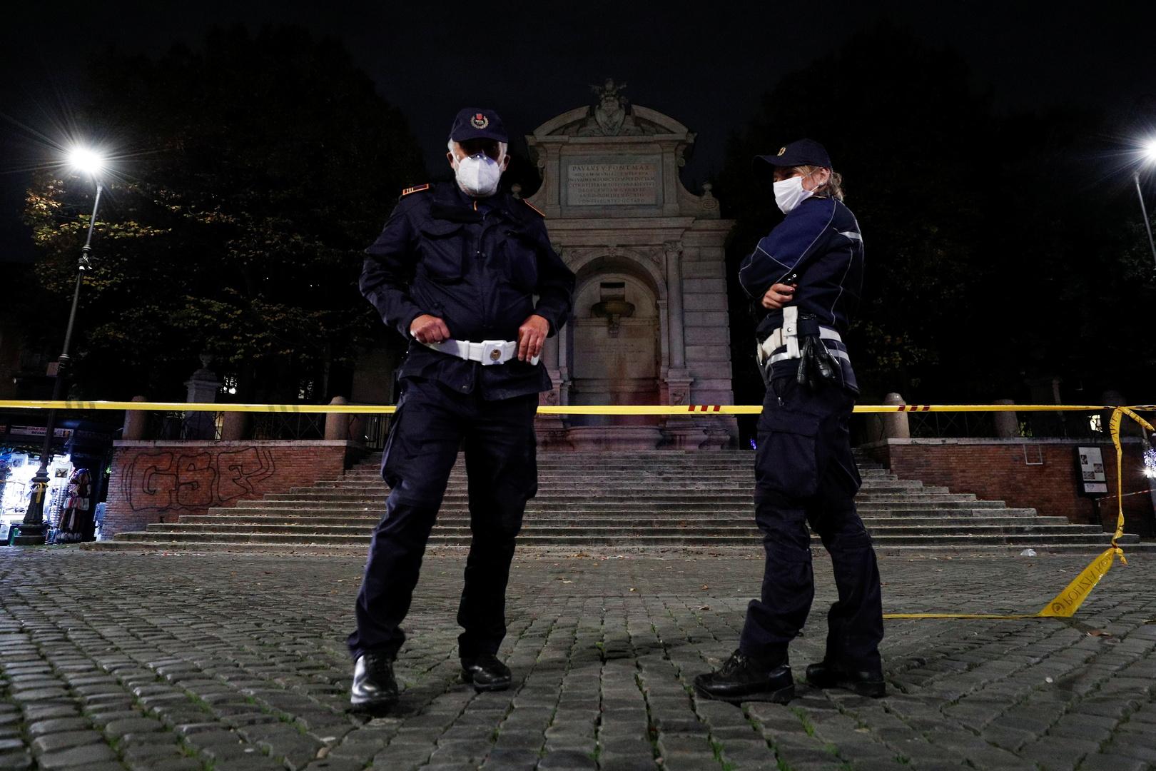 الشرطة الإيطالية تعتقل رجلا رومانيا يزعم تورطه  في قضية