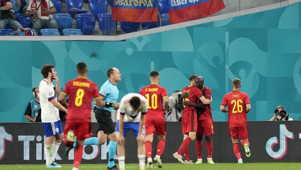 روسيا تخسر أمام بلجيكا في
