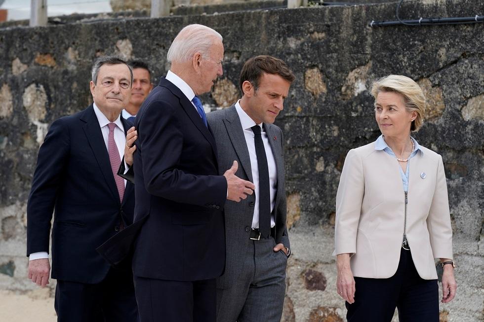 بايدن ورئيس الوزراء الإيطالي يبحثان السياسات المتعلقة بروسيا والصين وليبيا