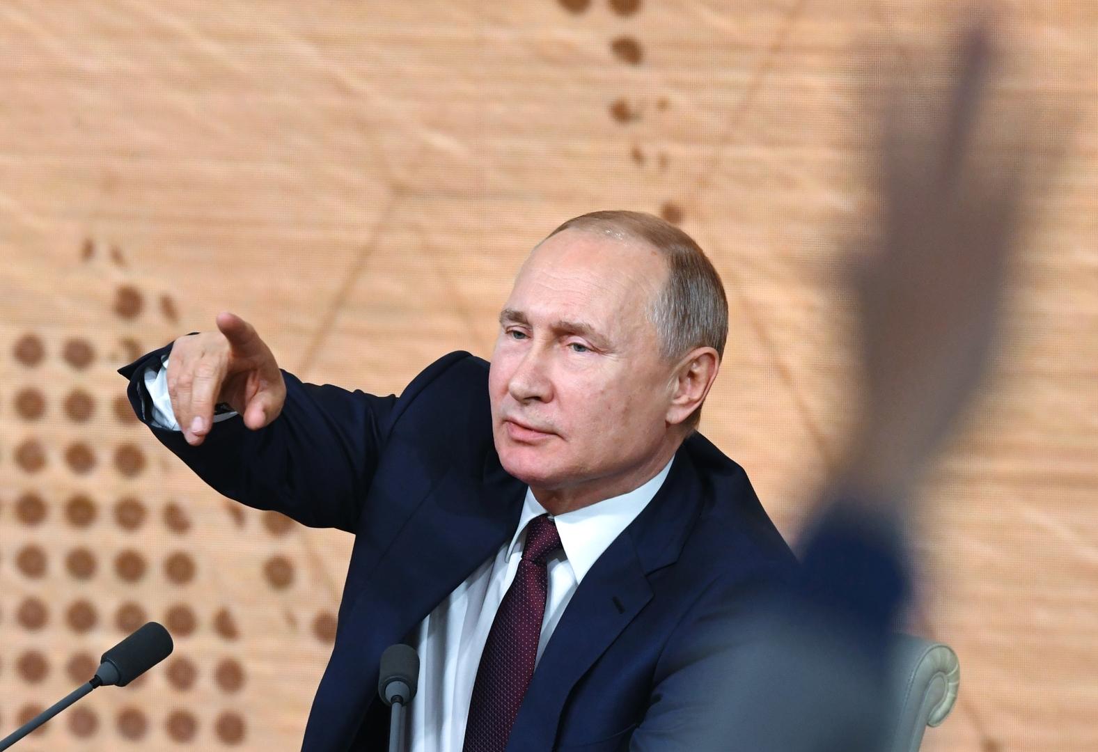 بوتين: روسيا مستعدة لتسليم مرتكبي الجرائم السيبرانية إلى أمريكا لكن بشرط