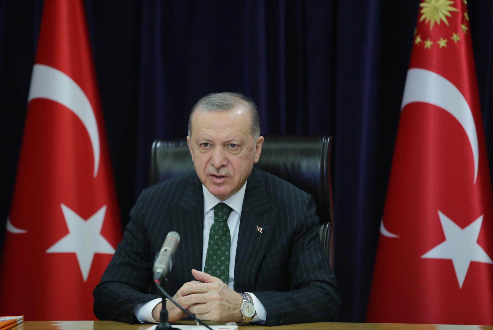 أردوغان: الهجوم الإرهابي على مستشفى الشفاء بعفرين أظهر وحشية تنظيم