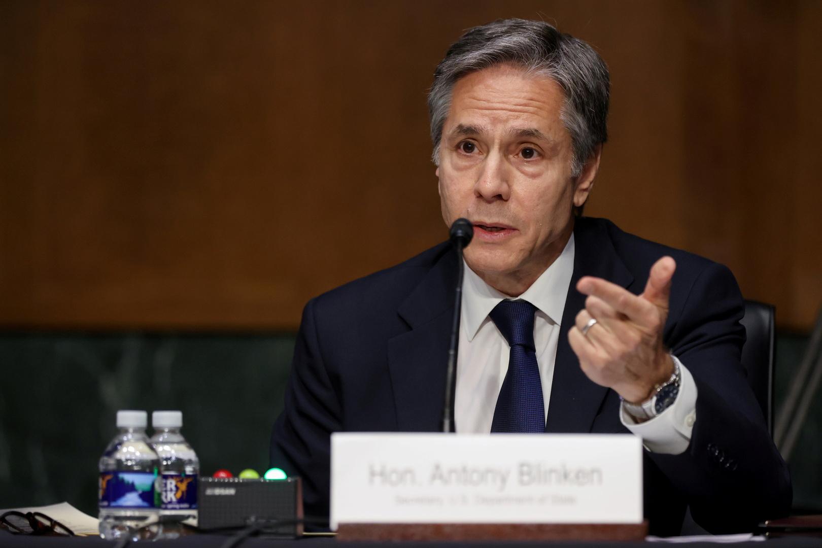 بلينكن: إيران تسرع تخصيب اليورانيوم ويجب النظر عاجلا في قدرتنا على إعادتها للاتفاق