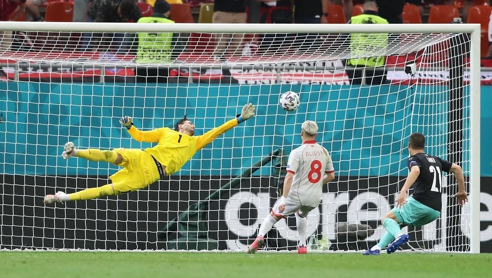 النمسا تقسو على مقدونيا الشمالية في أول ظهور لها في كأس أوروبا.. فيديو